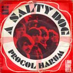 A Salty Dog - France Pic Sleeve