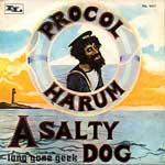 A Salty Dog - Italy Pic Sleeve